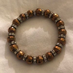 Sparkly stretch bracelet